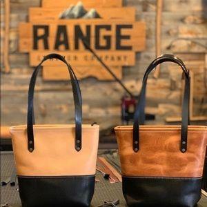 Range leather Mesa tote